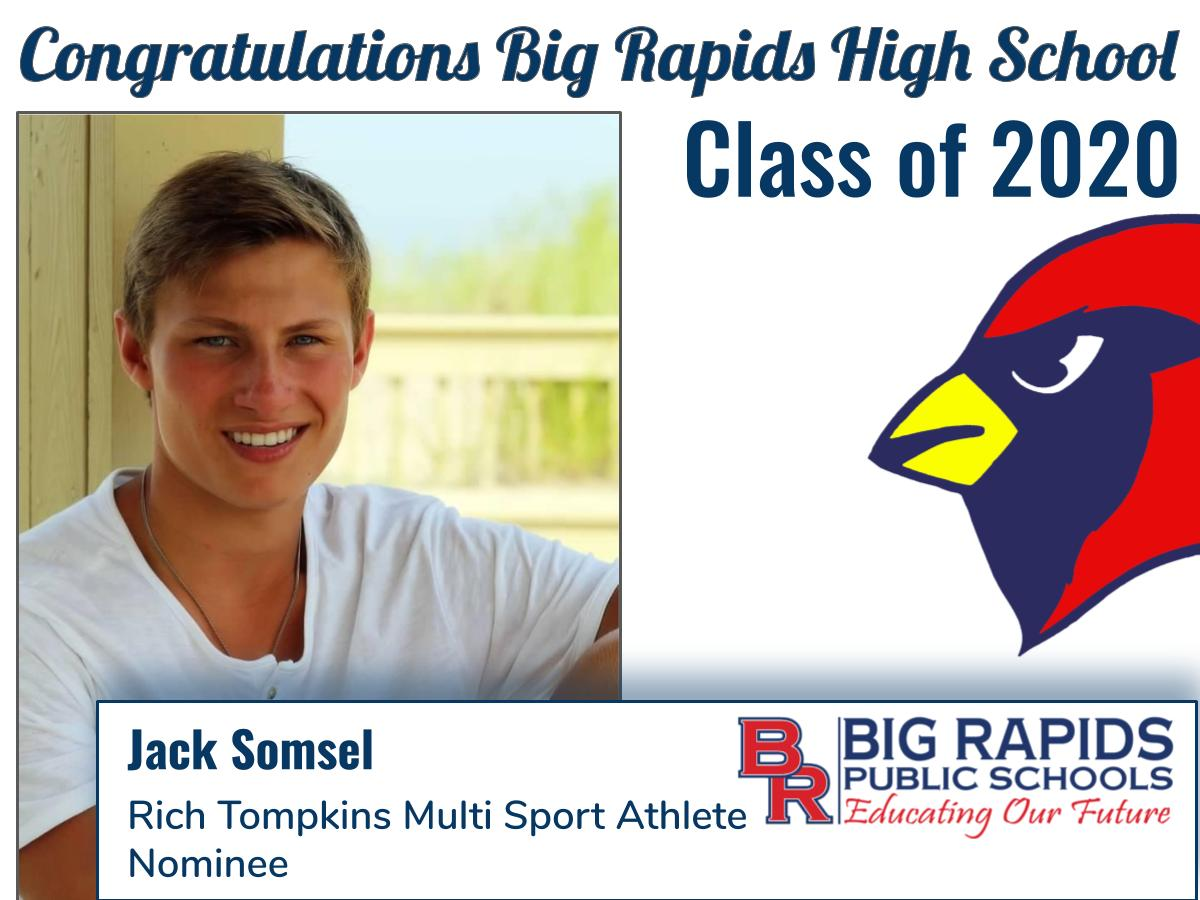 Rich Tompkins MS Athlete Nominee - Jack Somsel